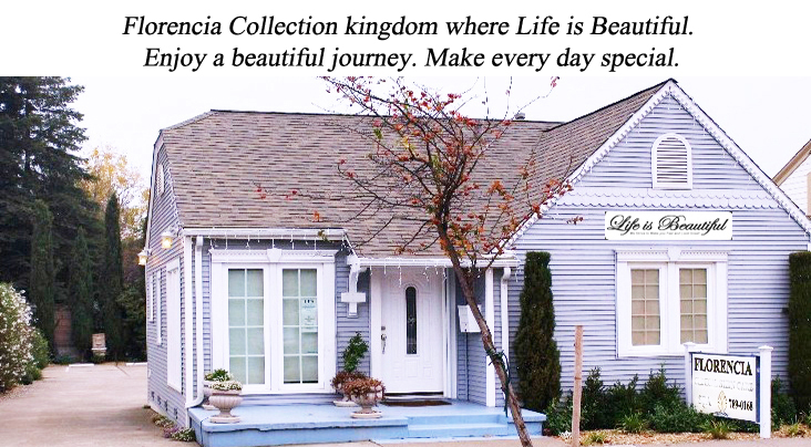 Florencia Collection kingdom where Life is Beautiful. Enjoy a beautiful journey. Make every day special.