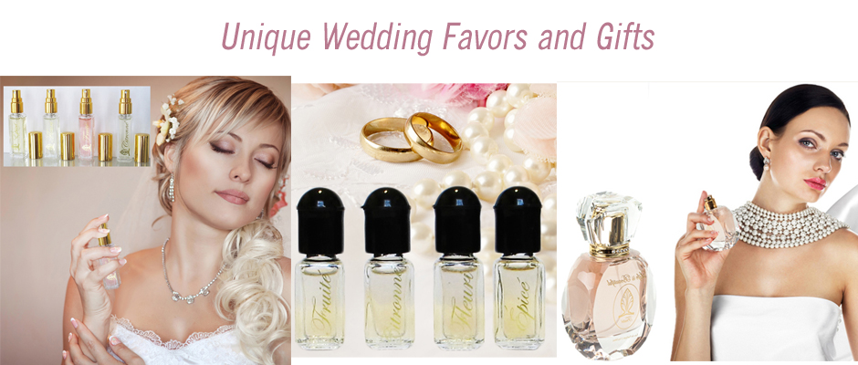 Unique Wedding Favors and Gifts at Florencia