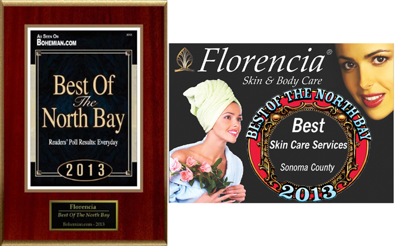 2013 Award Best Of The North Bay Bohemian Readers' Poll Result